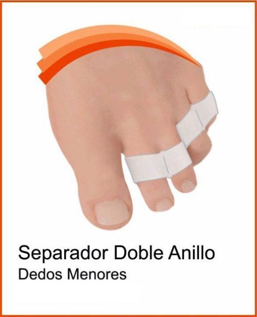 separador anillo doble